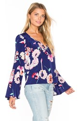 Yumi Kim Wanderlust Top Royal
