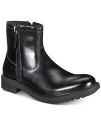 Unlisted By Kenneth Cole C Roam Zip Up Boot Shoes Black