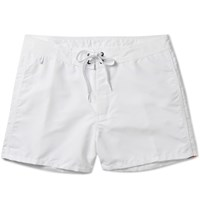 Sundek Rainbow Mid Length Swim Shorts White