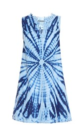Raquel Allegra Denim Tie Dye Dress