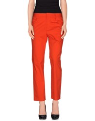 Theyskens' Theory Trousers Casual Trousers Women Orange