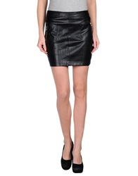 Jovonna Mini Skirts Black