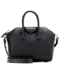 Givenchy Antigona Mini Leather Shoulder Bag Black