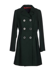 Gant Coats And Jackets Coats Women Dark Green