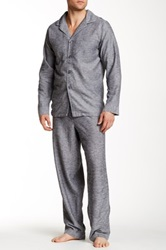 Majestic Capriz Pajama Set Gray