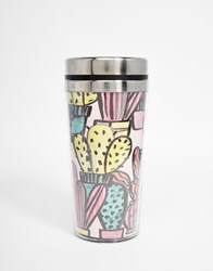Paperchase Cactus Insulated Cup Multi