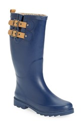 Chooka Women's 'Top Solid' Rain Boot Deep Navy
