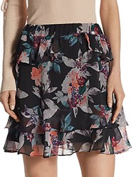Crosley Floral Printed Mini Skirt