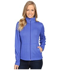 Spyder Major Cable Core Sweater Bling Women's Sweater Silver