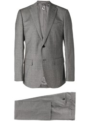 Caruso Single Breasted Suit Grey