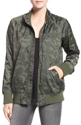 Members Only Women's 'Ex Boyfriend' Bomber Jacket Camo
