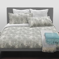 Trussardi Leaves Duvet Set Sand King