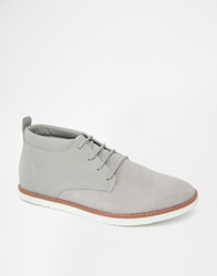 Pull And Bear Desert Boots Grey