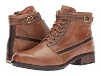 Naot Footwear Kona Vintage Camel Leather Saddle Brown Leather Seal Brown Suede Women's Boots