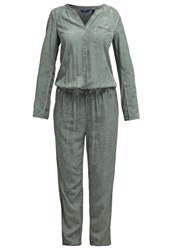Tom Tailor Jumpsuit Washed Jasper Green