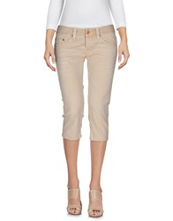Care Label Denim Bermudas Beige