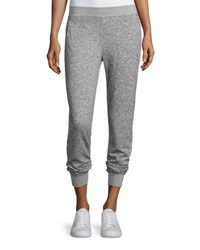 Atm Anthony Thomas Melillo Straight Leg Sparkle Sweatpants Gray Sparkle Grey