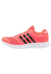 Adidas Performance Breeze 101 2 Cushioned Running Shoes Flash Neon Pink Red
