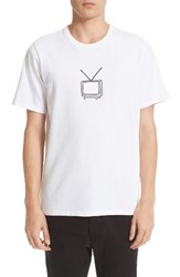 Rag And Bone Men's Tv Embroidery T Shirt