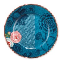 Pip Studio Spring To Life Plate Blue Large