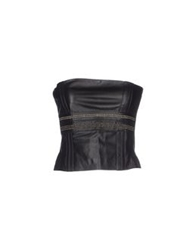 Annarita N. Tube Tops Black