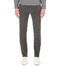Paul Smith Slim Fit Tapered Corduroy Chinos Elephant