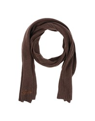 Guess Accessories Oblong Scarves Women Dark Brown