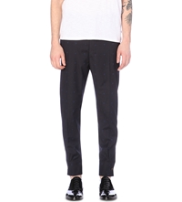 Vivienne Westwood Shirt Arms Cotton And Wool Blend Trousers Navy