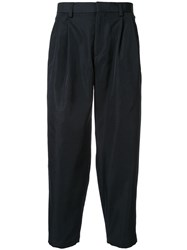 Kolor Cropped Trousers Black