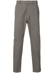 Pence Cropped Trousers Grey