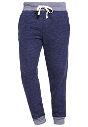 Gap Marl Tracksuit Bottoms Navy Marl Dark Blue