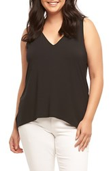 Tart Plus Size Women's Anais Back Strap Tank Black