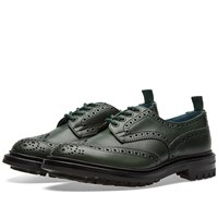Tricker's End. X Commando Sole Bourton Brogue Green