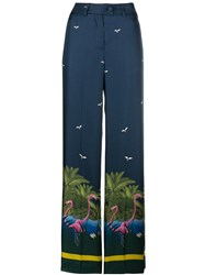 F.R.S For Restless Sleepers Zelos Trousers Blue