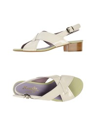 F.Lli Bruglia Footwear Sandals Women White