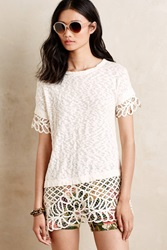 Saturday Sunday Manon Cut Out Tee Ivory