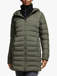 The North Face 'S Parka Jacket New Taupe Green