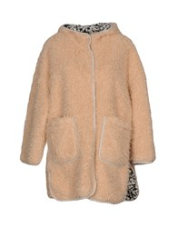 Bellerose Coats And Jackets Faux Furs Pink