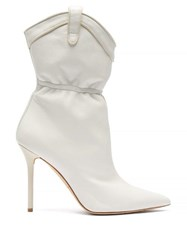 Malone Souliers Daisy Leather Boots White