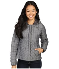 The North Face Thermoball Cardigan Tnf Medium Grey Heather Women's Sweatshirt Gray