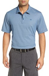 Travis Mathew Men's Stratman Pima Cotton Blend Golf Polo
