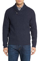 Nordstrom Men's Men's Shop Cable Knit Shawl Collar Sweater