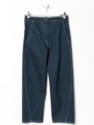 Christophe Lemaire Lemaire Indigo Twisted Jeans
