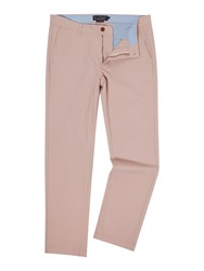 Howick Slim Fit Fraternity Casual Chino Dusty Pink