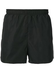 Hugo Boss Contrast Logo Swim Shorts Black