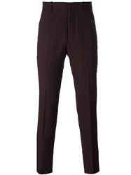 Marni Slim Fit Trousers Red