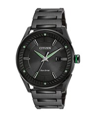 Citizen Drive Ion Plated Stainless Steel Bracelet Watch Bm6985 55E Black
