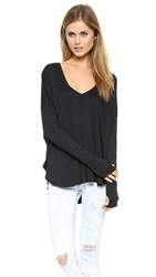 Feel The Piece Robin Top Black