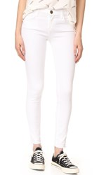 Current Elliott Stiletto Jeans Sugar With Released Hem