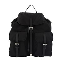 Prada Vela Backpack Nero